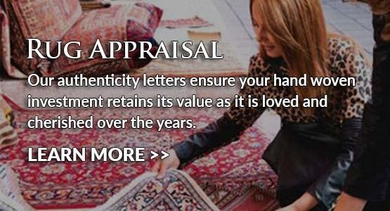 Khyber Pass Gallery Area Rug Appraisal